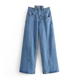2019 amerikanische stern jeans Star 65-9177 Jeans mit unregelmäßigen Nähten für europäische und amerikanische Mode rabatt amerikanische stern jeans