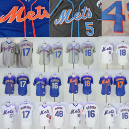 Canada New York Maillot Keith Hernandez Mets Dwight Gooden Jacob deGrom Darryl Strawberry Fraise Mitchell Ness Maillots De Baseball Blanc supplier strawberry jersey Offre