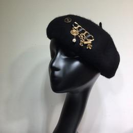 Elegantes barett online-Damen-Hut Herbst-Winter-heiße neue Damen Beret Damen Temperament elegante Accessoires wsj5388y3y3y7