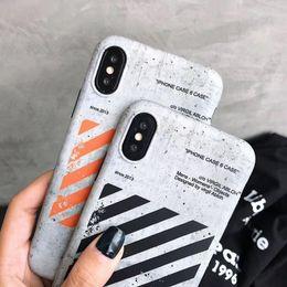 Due copertine posteriori del telefono online-New Fashion Street Brand Custodia morbida per iPhone X XS XR MAX 8 7 6 6S Plus Custodia coppia samsung s10 s10 s8 s9 plus note8 note9 cover posteriore
