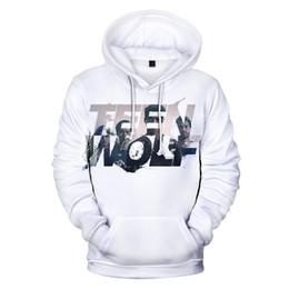 f8822c06e695 Serie de TV Sudaderas con capucha 3D de TEEN WOLF Hombres / mujeres Moda  Hip Hop Mantener el otoño caliente Imprimir en 3D Sudaderas con capucha y  sudadera ...