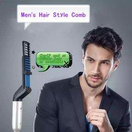 Multifonctionnel peigne Soins personnels Style de cheveux pour hommes Curl Droite Peigne à double usage Lisse cheveux Coiffure fournitures ? partir de fabricateur