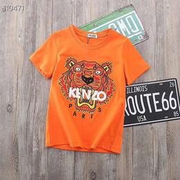 2019 broderies pour enfants 2019 été marque automne nouveau produit vêtement enfants dessin animé broderie tigre t-shirts Sweats à capuche broderies pour enfants pas cher