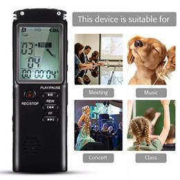 Grabadora activada por voz 4gb online-T60 4GB 8GB 16GB 32GB Pluma USB Grabadora de voz digital Grabadora de audio activada Reproductor de MP3 Dictáfono, Soporte TF-Tarjeta