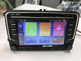 Radio vw skoda online-7 pulgadas 2 Din Android 8.1 radio gps para coche reproductor de DVD estéreo para VW GOLF 6 Polo Bora JETTA B6 PASSAT Tiguan SKODA OCTAVIA