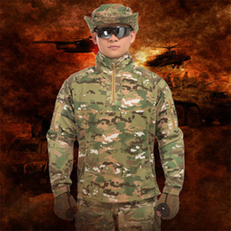 taktischer kampfanzug Rabatt GEJIAN City Tactical Anzug Männer SWAT Combat Uniform Männer Outdoor Sports Camouflage Tactical Pantalones Hombre