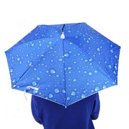 2019 guarda-chuvas de chuva Guarda-sóis altos do Quaqlity Ferramentas à prova de vento da chuva Guarda-sol principal Head-Montado à prova de vento de 77cm Guarda-chuva superior do chapéu da dobradura desconto guarda-chuvas de chuva