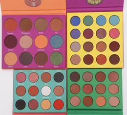 Sombra de ojos amarilla online-2019 Factory Direct Profesional maquillaje 12 Color Moda Mujeres Amarillo Paleta Sombra de Ojos Maquillaje Mate Paleta de Sombra de Ojos
