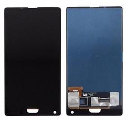 Wholesale Color negro azul para pulgadas Doogee mix Pantalla LCD Pantalla táctil Pantalla probada Reemplazo del ensamblaje del digitalizador Herramientas gratuitas