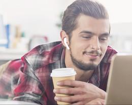 10 шт высокое качество W1 чип двойной уха наушники гарнитура Alrpods поколения 1 2 работает сенсорный, голосовое управление, наушники для ios Android Airpods от Поставщики lg тоны bluetooth наушники оптом