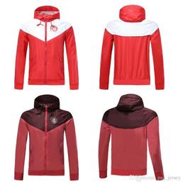 Топ 19 20 красный Бразилия Internacional толстовка с капюшоном шляпа куртка 18 19 спортивный костюм Survetements Дамиао Сильва Д'Алессандро взрослый мужчина чемпион Майо от