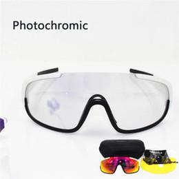 Descoloração dos óculos de sol on-line-POC Crave 3 lentes fotocromáticas Ciclismo Sunglasses esporte estrada Mtb Mountain Bike Óculos Eyewear Descoloração