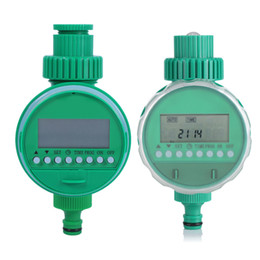 water timer garden irrigation controller Coupons - atering Irrigation Garden Water Timers LCD Display Automatic Garden Water Timer Intelligent Electronic Solenoid Valve Irrigation Sprinkle...