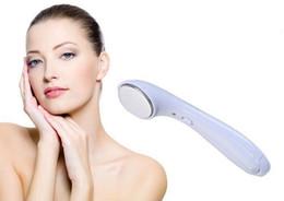 2019 ion massager beleza Ultrasonic elétrica Beleza Facial pele Dispositivo de endurecimento Ionic Rosto Pele Elevador Massager limpeza Face Face máquina de rolo vibratório Ion desconto ion massager beleza