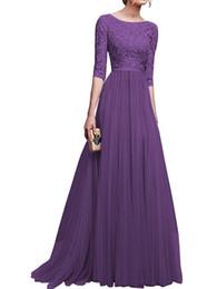 Nouveau tempérament élégant en mousseline de soie dentelle parti irrégulier longue robe en mousseline de soie robe de soirée longue jupe ? partir de fabricateur