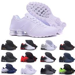 Scarpe da ginnastica nz online-nike TN Plus air max Shox Deliver 809 Nuovo Trasporto Libero Famous Plus TN Ultra Donna Uomo Sport Scarpe Da Corsa Atletica Scarpe Sportive Sneaker Scarpe Da Ginnastica scarpe