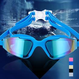 2019 définition s Lunettes de natation professionnelles anti-buée et anti-UV pour hommes et pour femmes promotion définition s