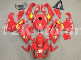 fairings for aprilia rs125 Coupons - Motorcycle New ABS Injection Mold Full Fairings Kit Fit For Aprilia RS125 06 07 08 09 10 11 2006-2011 bodywork set Custom Red Yellow Glossy