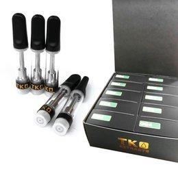 Kasten saucen online-Schwarz TKO Extracts SAUCE Kartuschen 0.8ml 1.0ml Keramikkartusche mit mattschwarzer Tropfspitze 7 Flavours Box Ecig DHL