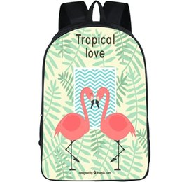 Tropical Birds of Paradise Palm Leaves Boyshorts Cockatoo Pink Flamingo