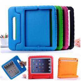 2019 дети шок доказательство ipad покрытие Портативная дети Безопасный пена удара доказательство Eva ручки чехол крышка подставка для iPad мини 2/3/4 для iPad 1234 5 6 про