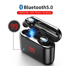 True Bluetooth 5.0 Earphone TWS Wireless Headphons Sport Handsfree Earbuds 3D Stereo Gaming Headset With Mic Charging Box