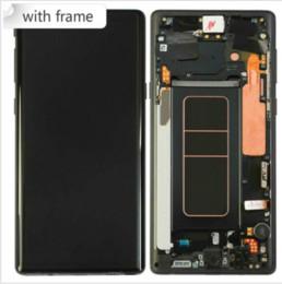 schermata lcd per mega della galassia Sconti Per la GALASSIA Display Touch Screen Nota 9 LCD Note9 Sostituzione del gruppo digitalizzatore per Samsung Note 9 LCD Free Shipping