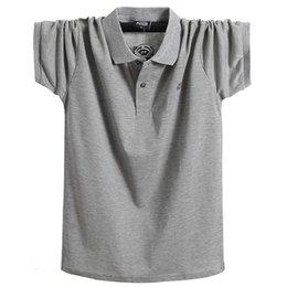 3713974a22 Compre La Nueva Camiseta De Manga Corta Masculina De Europa Y Los Estados  Unidos. Solapa Extra Grande
