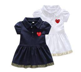 12-месячные девушки фиолетового платья Скидка 2020 Новое поступление Иностранная юбка с коротким рукавом, вышивка, летнее платье для девочек и 650