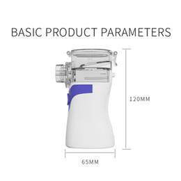 2020 factory hot sell Handheld portable inhaler ultrasonic nebulizer machine better than walmart vibrating mesh nebulizer