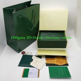 2019 смотреть оригиналы бесплатно Бесплатная доставка зеленый бренд часы оригинальный футляр бумаги карты кошелек подарочные коробки сумочка d0.7 кг для 116610 116660 116710 часы коробка дешево смотреть оригиналы бесплатно