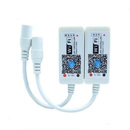 controlador wifi smartphone Rebajas Magic Home Mini RGB RGBW Controlador de Wifi Para el Panel de Tira Led función de sincronización de luz 16 millones de colores Control de Smartphone