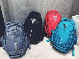 sacchetti di pallacanestro stile zaino Sconti Borsa New Style KOBE Sacchetto degli uomini Zaini pallacanestro Sport Bag scuola dello zaino per l'adolescente all'aperto zaino multifunzionale pacchetto zaino