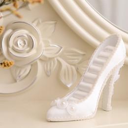 chaussures modèles talons hauts Promotion Présentoir à bijoux étagères à talons hauts chaussures rangée modèle fantaisie étui à bijoux présentoir de chaussures de mariage