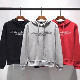 impressões de flor de paris Desconto 2019 Paris moda francesa dos homens designer de marca carta D2 camisola de alta qualidade de mangas compridas corpo velho flor do hoodie impressão terno dos homens novos