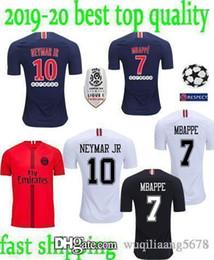 ef118ea42cab 2018 2019 PSG third maillot MBAPPE soccer jersey CAVANI VERRATTI top  thailand 18 19 paris football shirt KIMPEMBE Camiseta de futbol