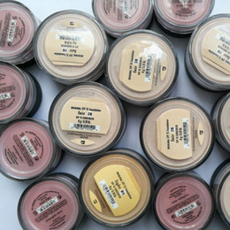 diferentes fábricas Rebajas 44 colores diferentes Minerales polvo suelto base rubor brillo mate acabado polvo en polvo de maquillaje de fábrica directamente