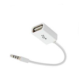 2019 преобразователь 24v ac 12v dc Автомобильный MP3-плеер Конвертер 3,5 мм Разъем AUX Аудио Разъем для USB 2.0 Женский Конвертер Кабель Кабель-адаптер для аксессуаров USB