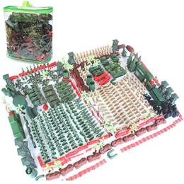 2019 militärkriegsspielzeug Militär Modell Puppen Spielzeug, Weltkrieg Sand Tisch Szene mit 520 Stück Soldaten, Panzer oder Flugzeuge, für Party Kid