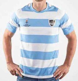jersey de rugby ao atacado Desconto Top qualidade 19 20 Argentina World Cup Rugby Jersey 2019 2020 Argentina Rugby jersey camisola treino ternoS-3XL
