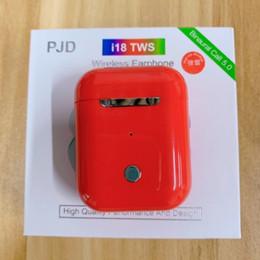 2019 apple mini 50 Pz i18 TWS Earphpnes Touch mini Bluetooth 5.0 Auricolari wireless 1: 1 per iPhone Auricolari Android sconti apple mini