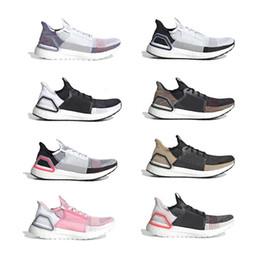 2019 zapatillas marrones 2019 Ultra Mens Running Shoes Cloud White Black Dark Pixel Refract Clear Brown Primeknit Sports Entrenadores Hombres Mujeres Zapatillas Con Caja zapatillas marrones baratos