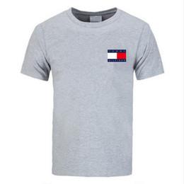 красный перец для оптовой продажи Скидка Хлопок футболки мужчины дизайнер мужские футболки хип-хоп футболки мужская мода стиль короткие случайные футболки топы Бесплатная доставка