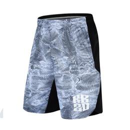 modèles de vêtements de sport Promotion KD20 Basket-ball Shorts Genou Longueur Formation Pantalon À Manches Sport Cordon Détendu Motif Décoratif Sports Homme Vêtements