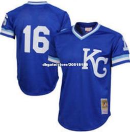 Cheap MITCHELL NESS 1989 Kansas City KC  16 Bo Jackson BATTING MESH JERSEY  Top Retro Mens stitched baseball jerseys a3b1d02f5