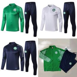 2019 grüne sportkleidung 19 Palmeiras Fußballjacke Trainingsanzug Set 19/20 GREEN DUDO G.JESUS ALECSANDRO Palmeiras Fußballjacke Kit Sportbekleidung Anzug S-XL rabatt grüne sportkleidung