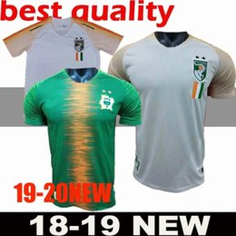 2018-2019 Ivory Coast Soccer Jersey 11 Didier Drogba Football Shirt 18 19  Uniforms Custom Thailand 8 KALOU 10 GERVINHO 19 TOURE YAYA adult m bf71a7858