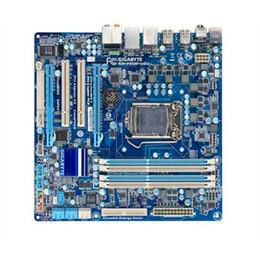 Canada Pour Gigabyte GA-P55M-UD2 Original utilisé carte mère P55M-UD2 de bureau P55 Socket LGA 1156 DDR3 ATX en vente cheap 1156 ddr3 motherboard Offre