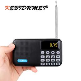 2019 batería p8 Receptor de reproductor de radio digital portátil DAB-P8 DAB + FM con altavoz estéreo Bluetooth Receptor de FM al aire libre Reproductor de música con batería batería p8 baratos