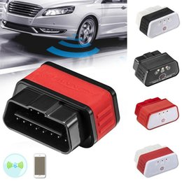 Puede android bus online-ELM327 Bluetooth OBD2 CAN-BUS Scanner funciona ELM 327 BT Adaptador Escáner inalámbrico Solo Android Windows car